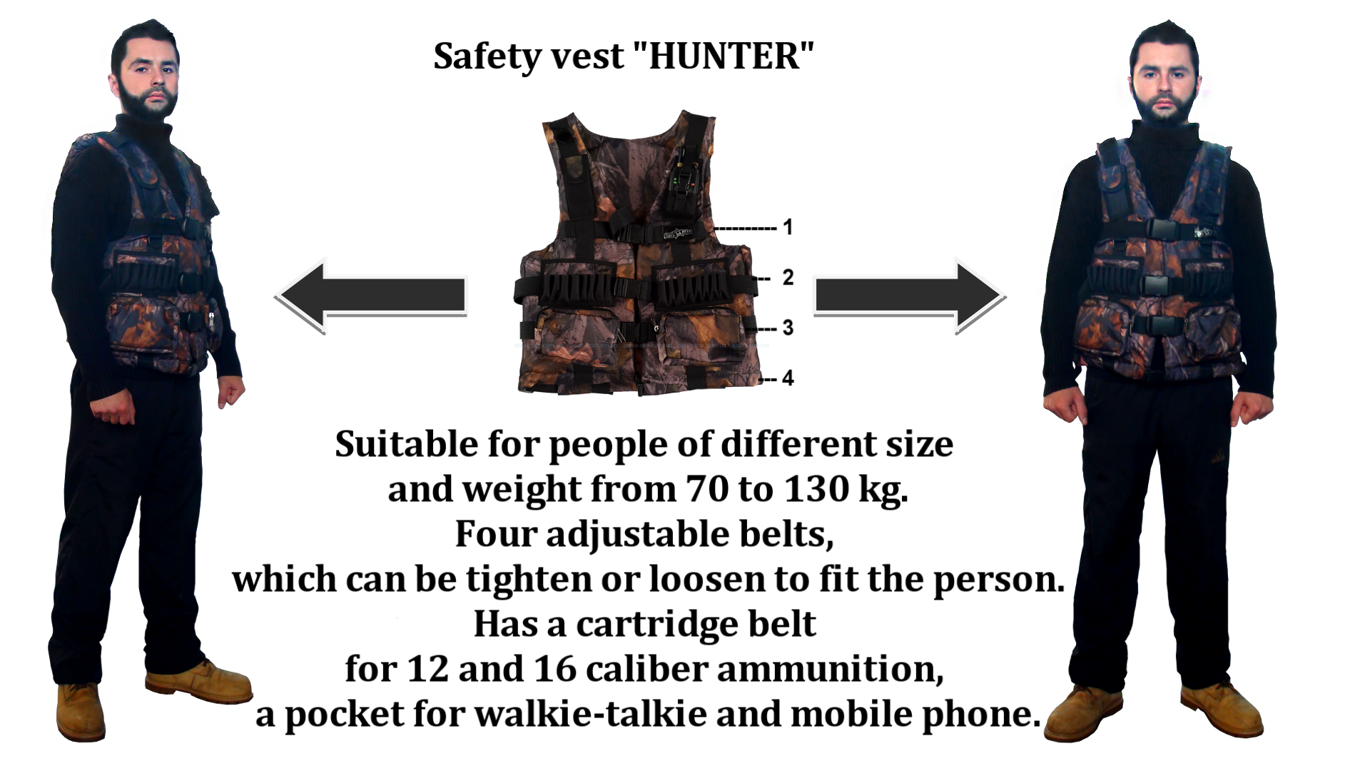 "Safety vest ""HUNTER"""