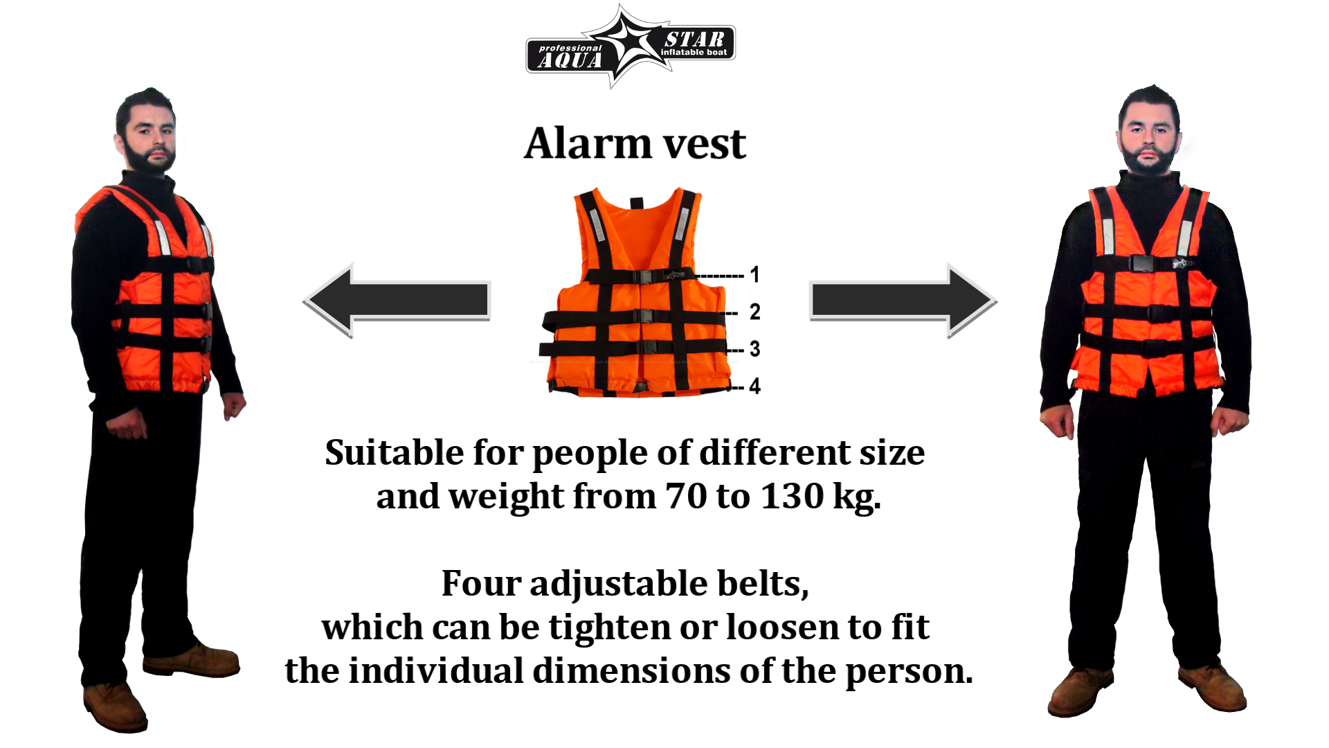 "Safety vest ""Alarm"""