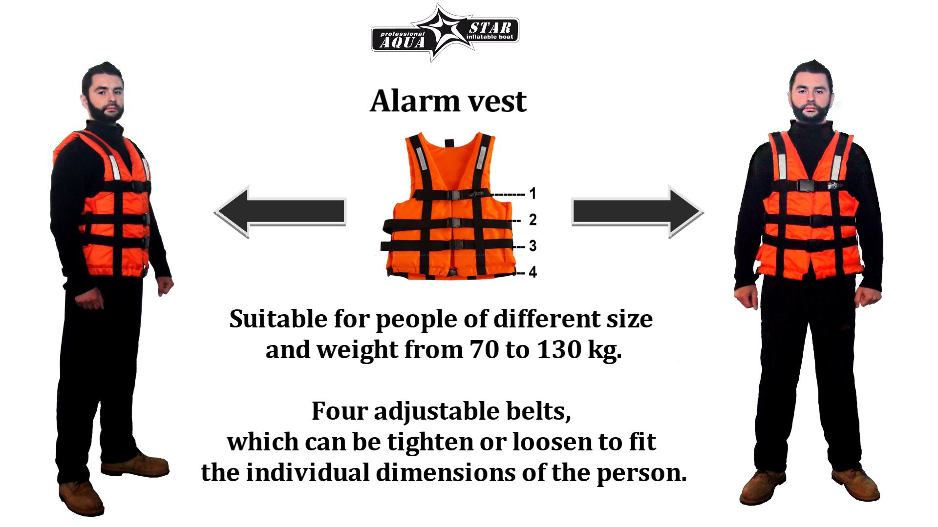 """Safety vest """"Alarm"""""""
