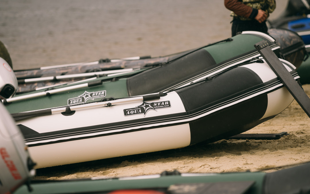What AQUASTAR boat are made of and why do they have black inserts ?